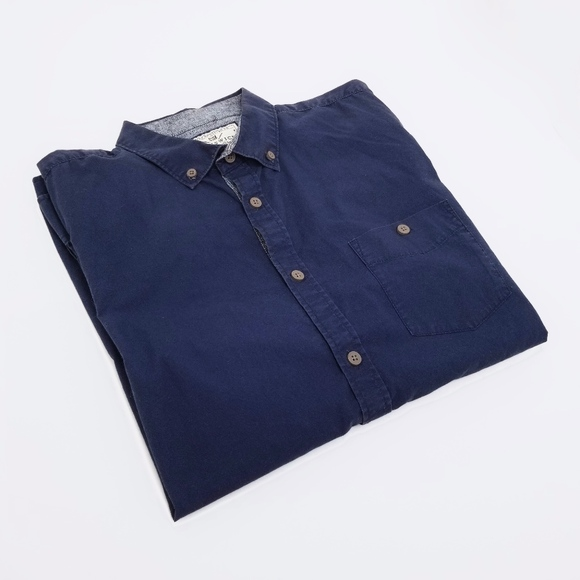 Cotton On Other - COTTON ON Navy Blue Men's Casual Dress Shirt